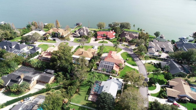 Some Of Lakeland Florida's Waterfront Estates