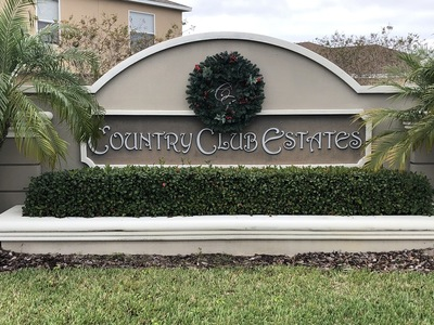 Country Club Estates Winter Haven Florida