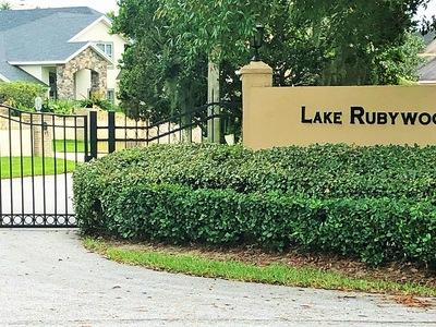 Lake Rubywood Winter Haven Florida